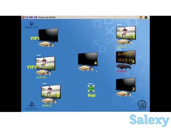 Программа для игрового клуба PlayStation в Шымкенте, фотография 1