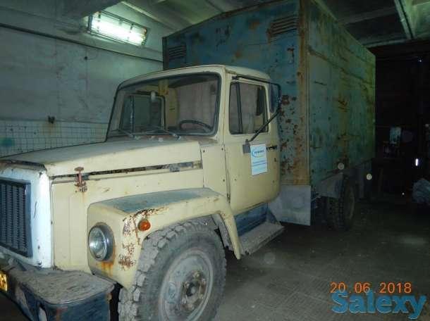 ГАЗ 3307(фургон-будка) 1994г, фотография 2