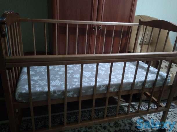 Детская кровать на колесиках, фотография 3