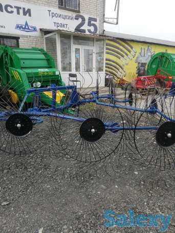 Грабли-ворошилки 10-ти колесные, фотография 3