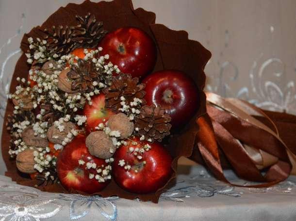 Фруктовые и овощные букеты, фотография 1
