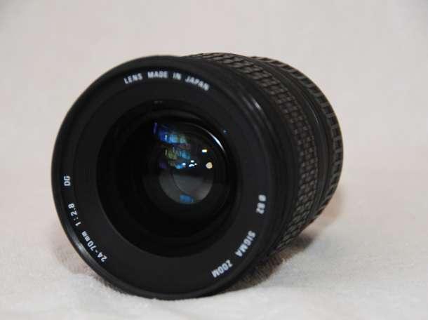 Объктив для Nikon , Sigma 24-70 /f 1:2,8 DG EX ASPHERIAL , фотография 3