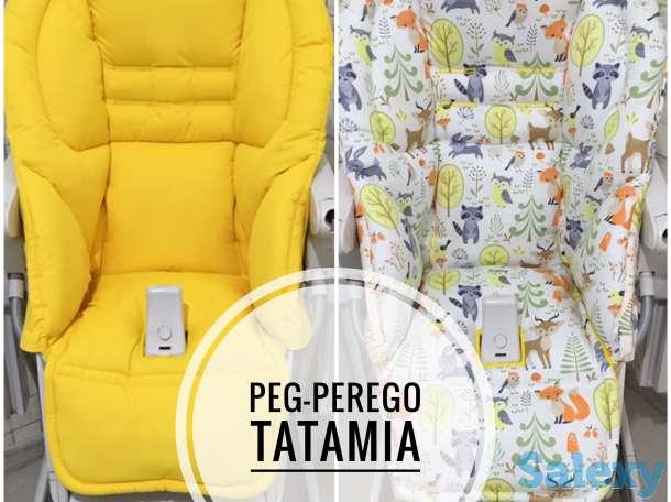 Чехлы на детские стульчики для кормления : Chicco Polly, Tatamia, Justin, Happy baby и др, фотография 5