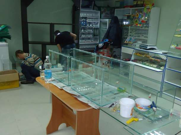 аквариумы в наличии, фотография 2