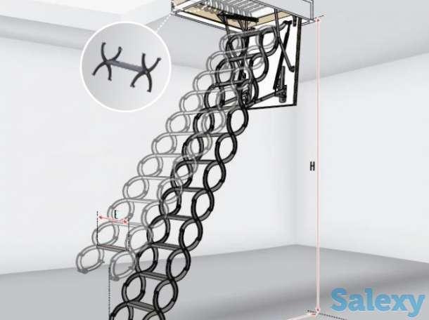 Чердачные лестницы, фотография 1
