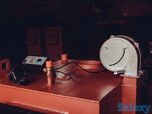 Котлы отопления, длительного горения, (загрузка от 200 литров угля), фотография 5
