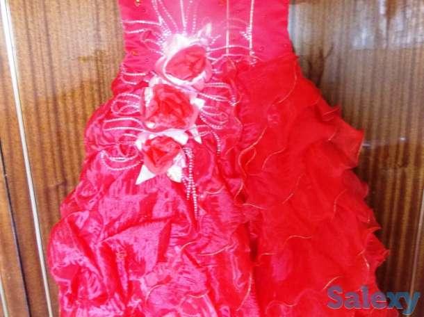 продам очень красивое праздничное платье на девочку 9-12 лет, фотография 1