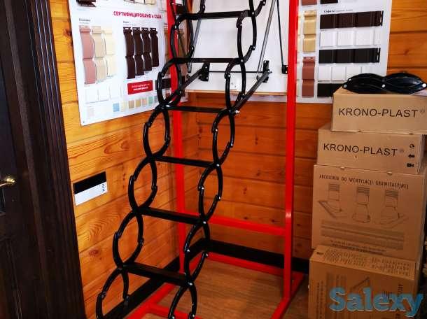 Чердачные лестницы, фотография 7