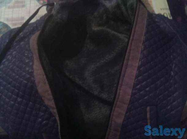 Куртка мужская размер 44-46 осенне-зимняя, фотография 1