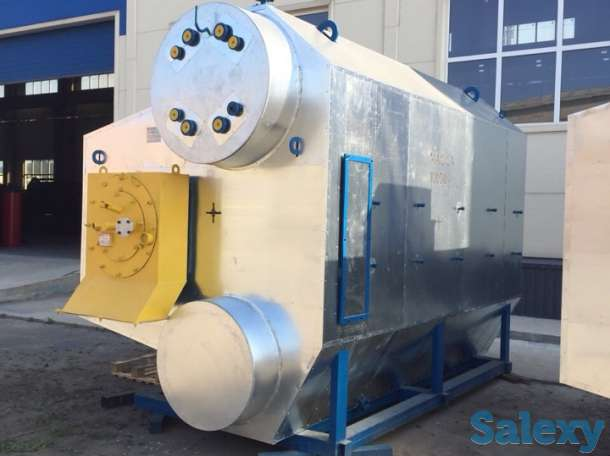 Катионит, паровой котел Е1.0-0.9М-3, водоподготовительная установка ВПУ, фотография 6