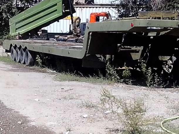 трал 4-х осный грузоподьёмность 35 тонн, фотография 2