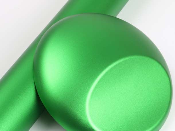 Пленка матовый хром зеленое яблоко Wrap, фотография 1