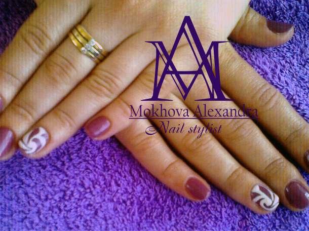 Маникюр ,гель покрытие,различный дизайн ногтей,высокое качество, фотография 2