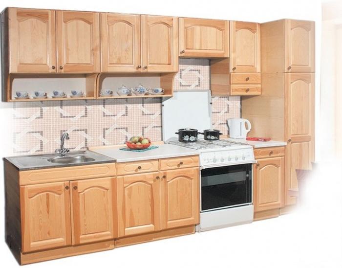 Кухонный комплект 110. Кухонные гарнитуры. Главная. Каталог